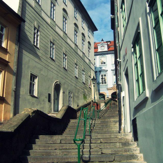 'Jansky stairs, Prague - 2' on Picfair.com