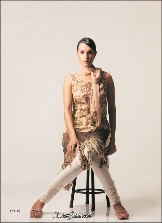 Shamaeel Ansari Collection  Model Nadia Hussain
