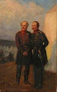 Generalerne Olaf Rye Schleppegrell, som faldt for Danmark i Sönderjylland by Otto Bache