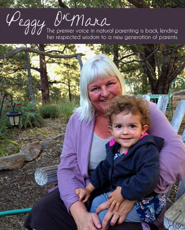 Green Child Magazine talks to natural parenting pioneer, Peggy O'Mara, about her transition from Mothering and what is coming up next!