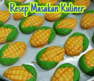Kue Nastar Bentuk Jagung Nastar Kue Kue Kering Mentega
