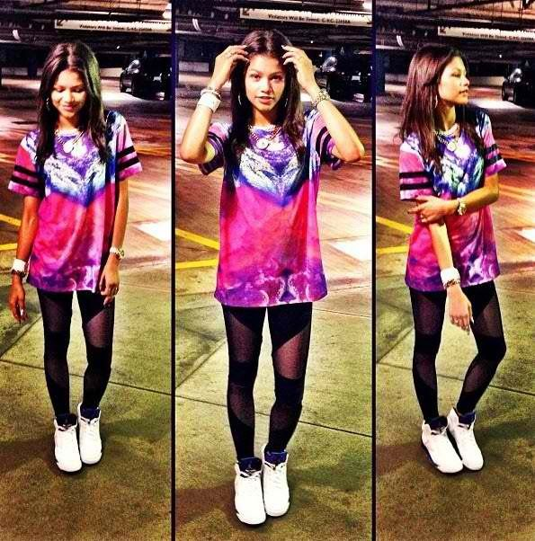 Zendaya Coleman Clothes Fashion Dance Hiphop Style Swag On Pinterest Topshop