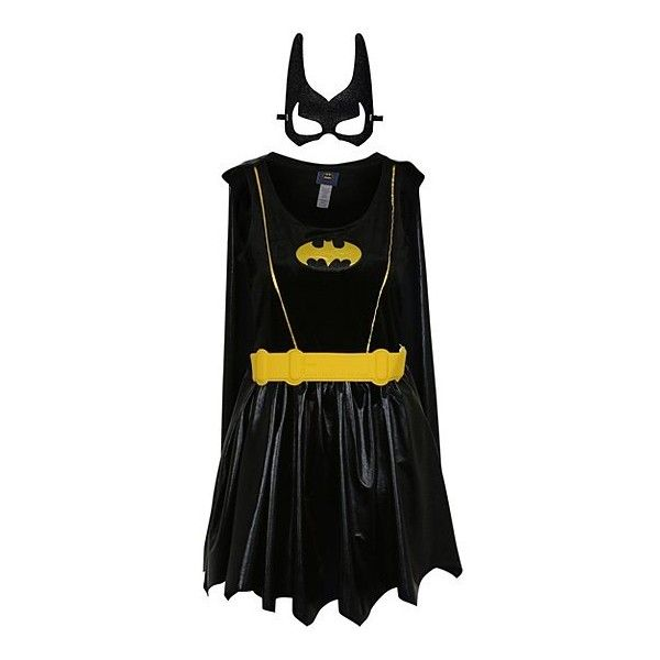 George Adult Batwoman Fancy Dress Outfit ($25) ❤ liked on Polyvore featuring costumes, bat costume, fancy costumes, adult costume, fancy halloween costumes and party halloween costumes
