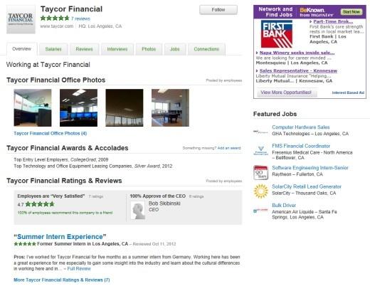 Taycor Financial on Glassdoor