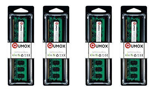 QUMOX 8Go(4x2Go) DDR2 800MHz PC2-6300 PC2-6400 DDR2 800 (240 PIN) DIMM Mémoire pour ordinateur de bureau #QUMOX #Go(xGo) #PIN) #DIMM #Mémoire #pour #ordinateur #bureau