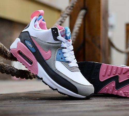 Adidasi Nike Air Max 90 Gs Violet