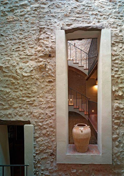 17 mejores ideas sobre paredes de piedra en pinterest - Paredes de piedra interiores ...