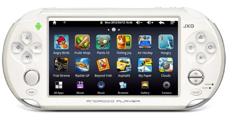 New JXD S5110 Mini Tascabile Retro Game Emulatore Console TouchScreen Android 4 ICS - Open Your Eyes