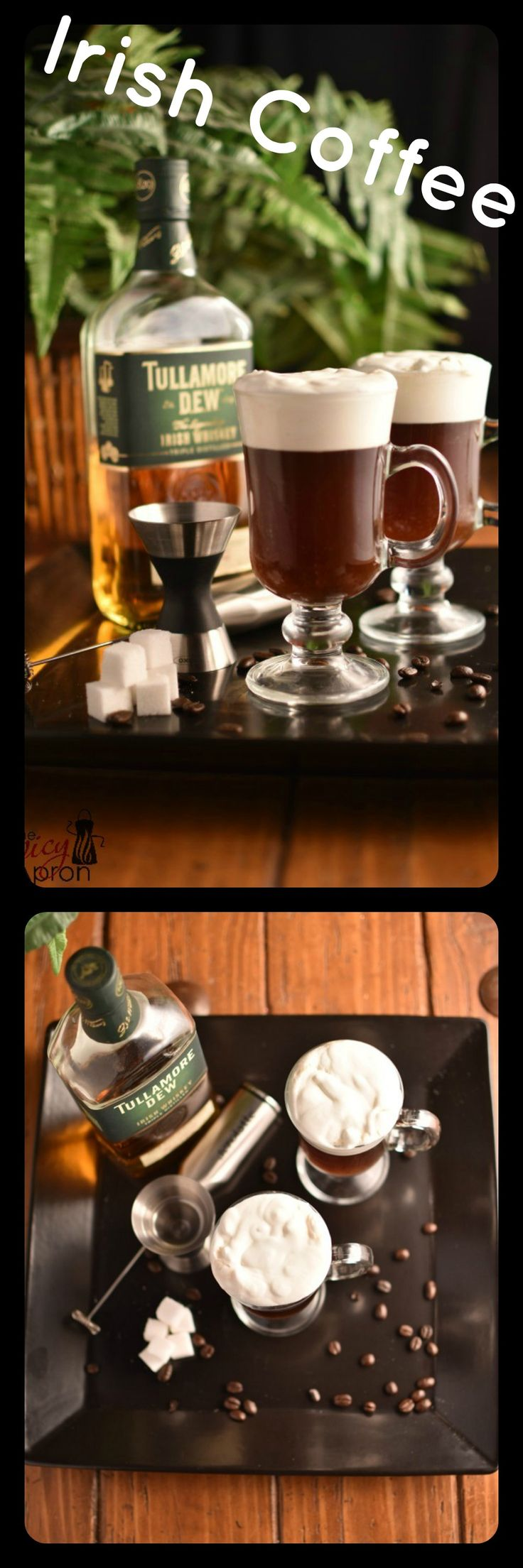 Warm up with this traditional Irish Coffee. Now that you know how to make it, you'll never go back!