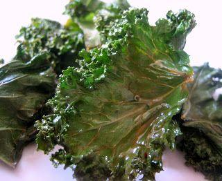 Lemon Kale Chips   Recipe - my garden veggies/greens   Pinterest