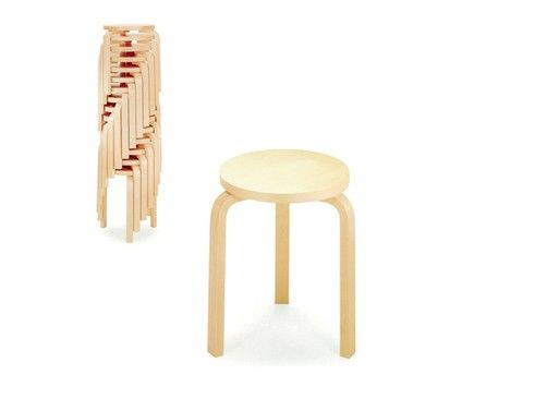 Aalto Stacking Stool