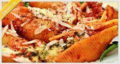 I conchiglioni ripieni sono un ottimo piatto da preparare per le gite fuori porta, per questo la nostra veloce ricetta è l'ideale, semplice e veloce.