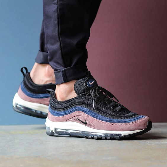 rencontrer dbc83 f78ca Air Max 97 Homme Tonnerre Bleu Voile Noir | Sneakers in 2019 ...