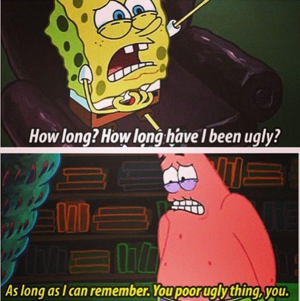 Funny SpongeBob SquarePants & Patrick Star - Life throws you curves. Being…