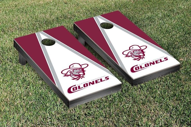 Pyramid of Power Eastern Kentucky Colonels Corn Toss Game