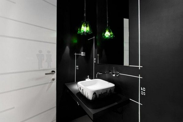 Modern Office Bathroom Design
