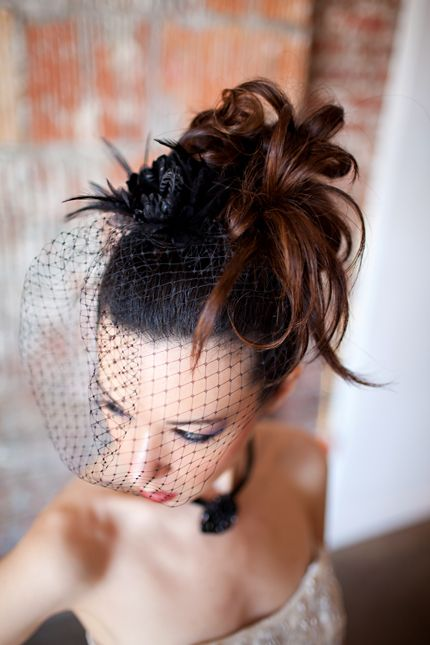Steampunk Wedding Hair Makeup Inspiration From Our Bridal Styled Shoot