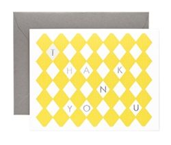 Garance Dore Thank You Canary cards now in the sale at Northlight