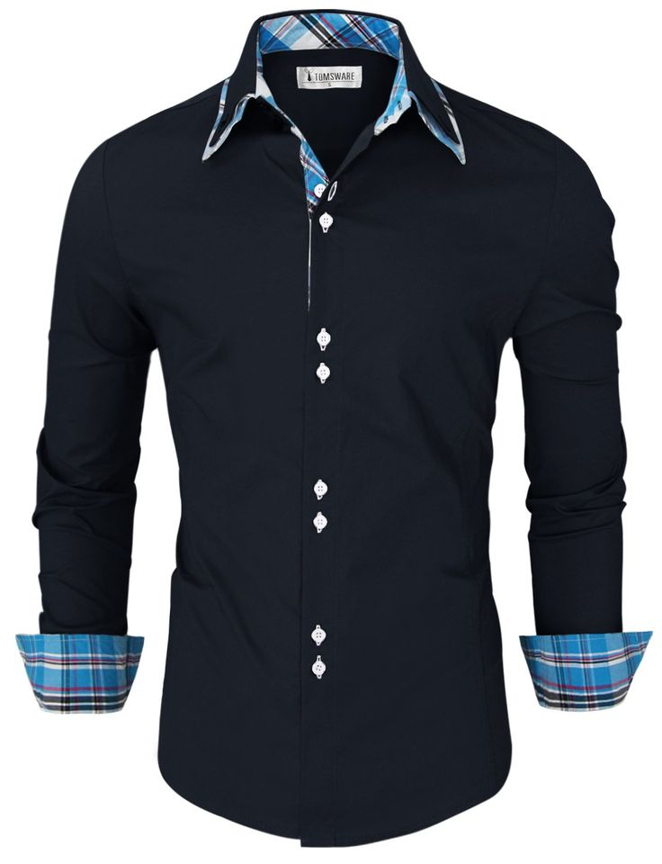 8 best mens shirt images on pinterest dress shirts mens for Tom s ware mens premium casual inner contrast dress shirt