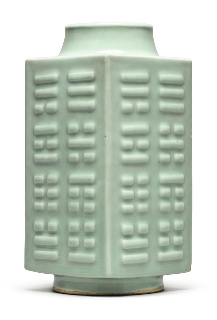 89 best celadon images on pinterest ceramic art ceramics and celadon glazed bagua vase cong guangxu mark and period reviewsmspy