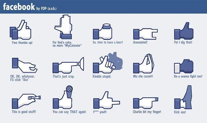 New Facebook Buttons