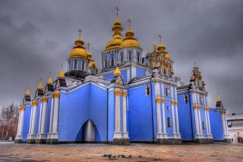 St. Michael's Golden Dome Monastery, Kiev, UkraineMichael Golden Dom, Building, Ukraine, Church, Middle Age, Places, Architecture, Goldendom, St Michael