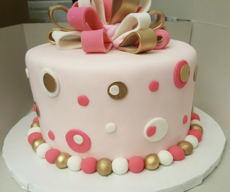Simple Cake Designs With Fondant : 88 best Fondant Birthday Cakes images on Pinterest ...