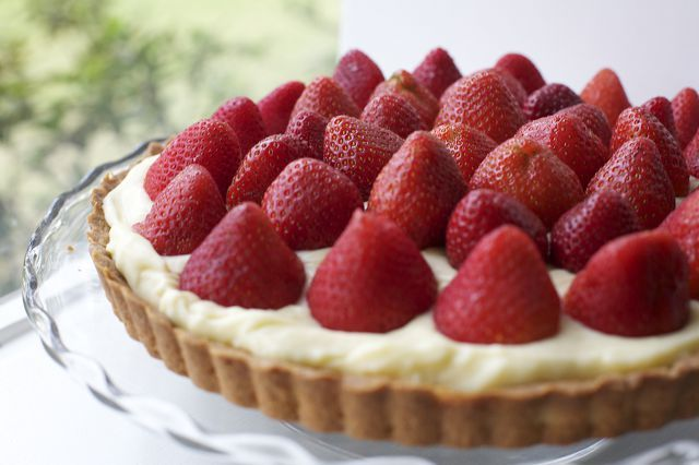 Tartaleta de frutillas / Strawberry tart