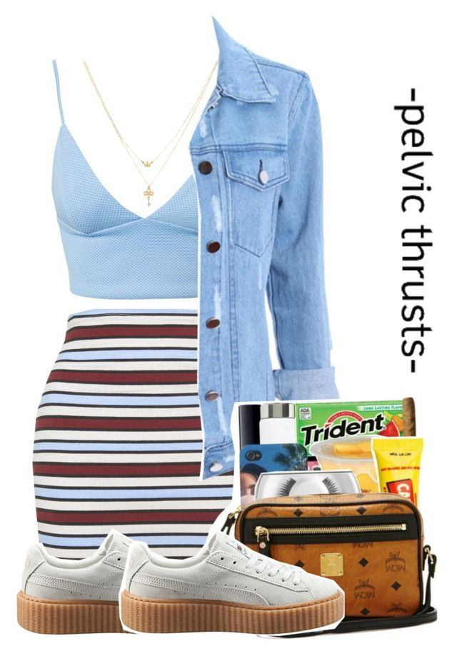 """7/22/16"" by reiannnna ❤ liked on Polyvore featuring Motel, Dark Pink, Puma and Betsey Johnson"