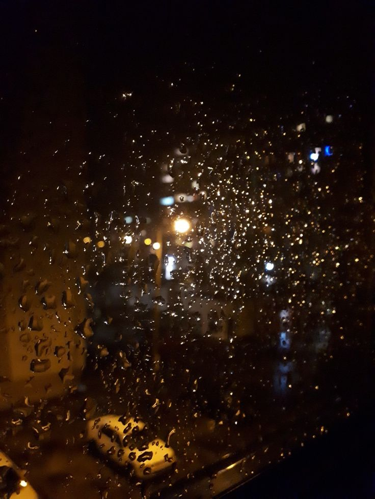 Rain from my window