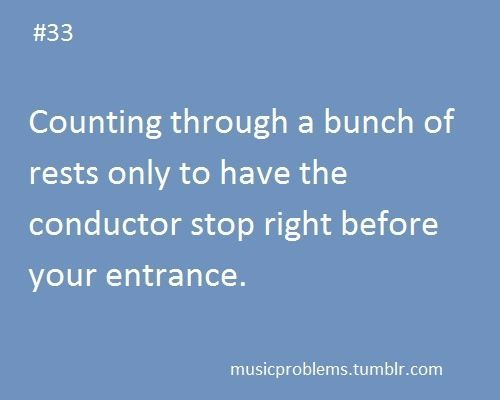 Well, at least you did not get bored. | Band Problems | Singer Problems | Orchestra Problems