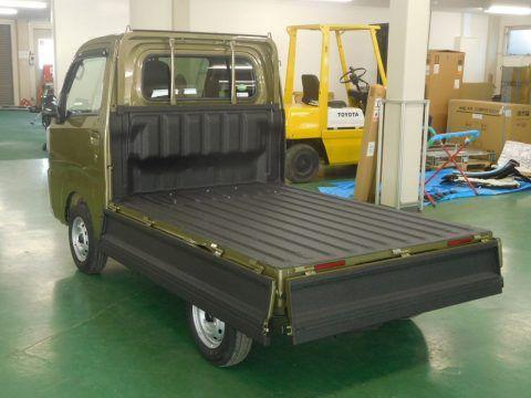 ハイゼット 軽トラック 荷台ベッドライナー塗装 荷台を錆・傷・凹みから守る最強の塗料!