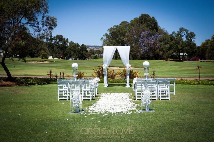 White Wedding! www.circleofloveweddings.com.au