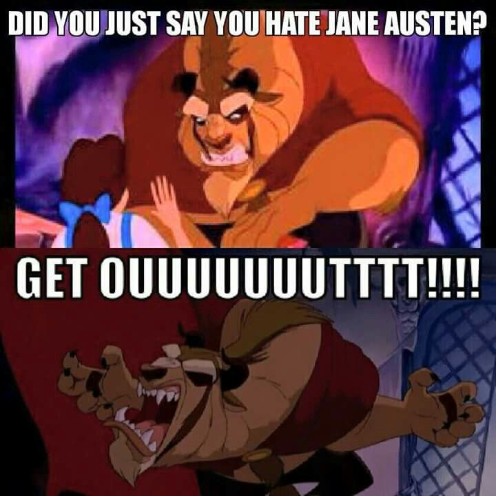 Jane Austen / Beauty and the Beast