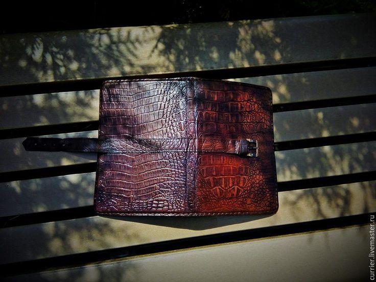 Купить Записная книжка-блокнот - коричневый, записная книжка, блокнот ручной работы, блокнот из кожи