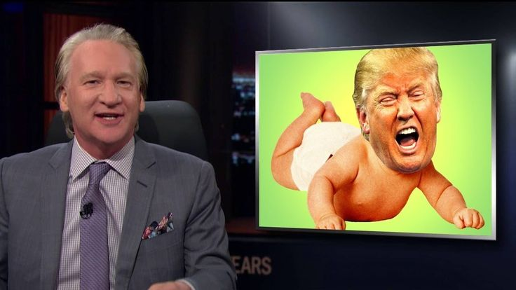 Real Time with Bill Maher: Trump's Lying Infantile (HBO New Rule)