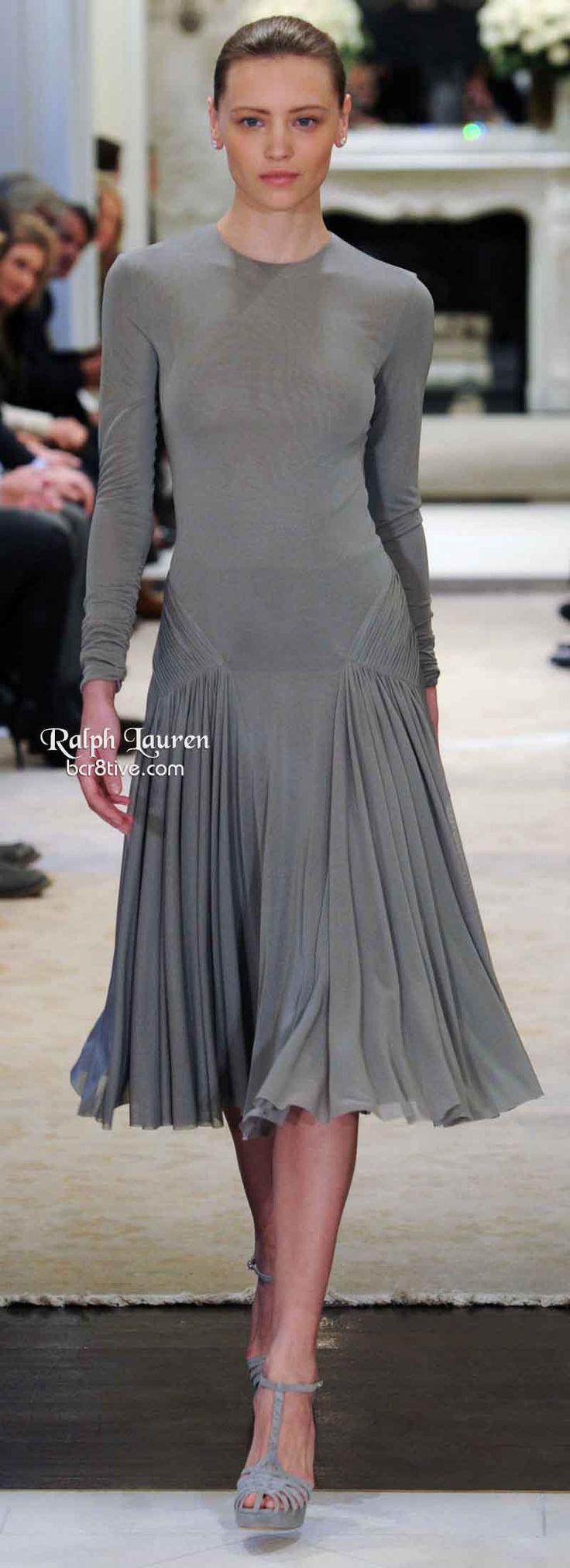 Ralph Lauren Pre Fall 2014 - love the flow of this skirt