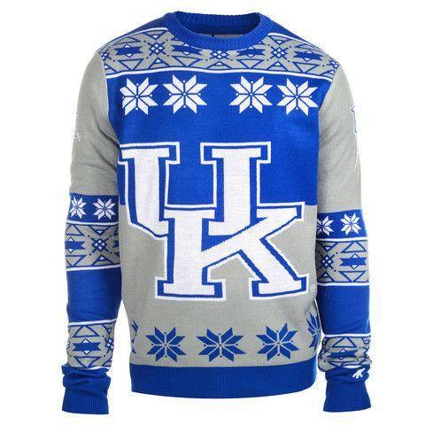 NCAA Kentucky Wildcats Official Men's Big Logo Sweater