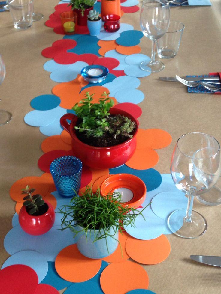 Tafelversiering   Tadaaz #communie #lentefeest #tafelversiering