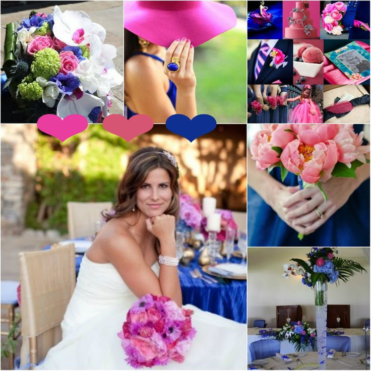 pink and blue reception wedding flowers,  wedding decor, wedding flower centerpiece, wedding flower arrangement, add pic source on comment and we will update it. www.myfloweraffair.com can create this beautiful wedding flower look.