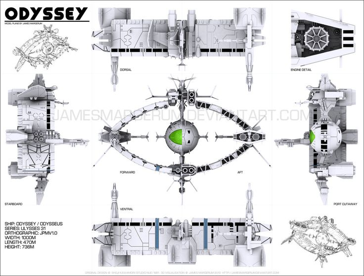 http://modelsheetcentral.deviantart.com/art/Odyssey-model-plans-360595680