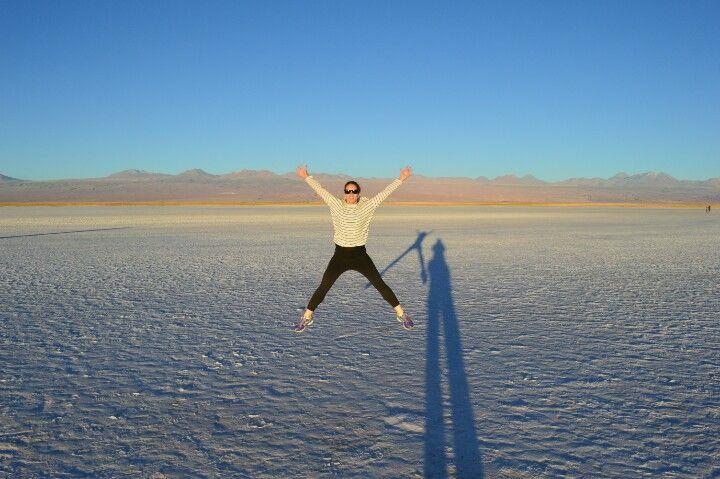 Atacama desert - Tebinquinche lake No blog: caminhosdasilvia.blogspot.com.br