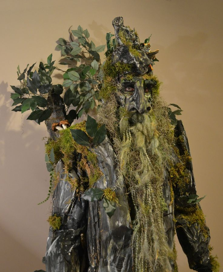 Tired of costumes yet? Homemade Treebeard costume | the most gloriously epic costume I've ever seen