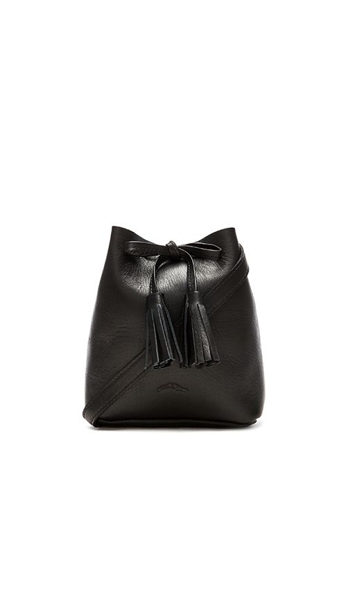 Shaffer The Greta Bucket Bag in Black   REVOLVE