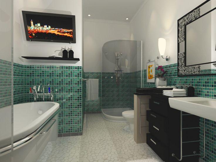 Bathroom Design 2348x1964 Black Commercial Toilet For Luxury