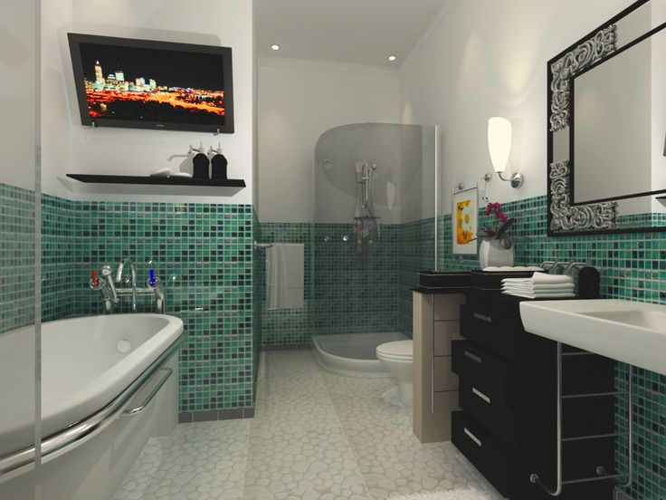 bathroom designs incredible modern bathroom design ideas for modern home charming modern bathroom design ideas green mosaic tile backsplash - Restroom Design Ideas
