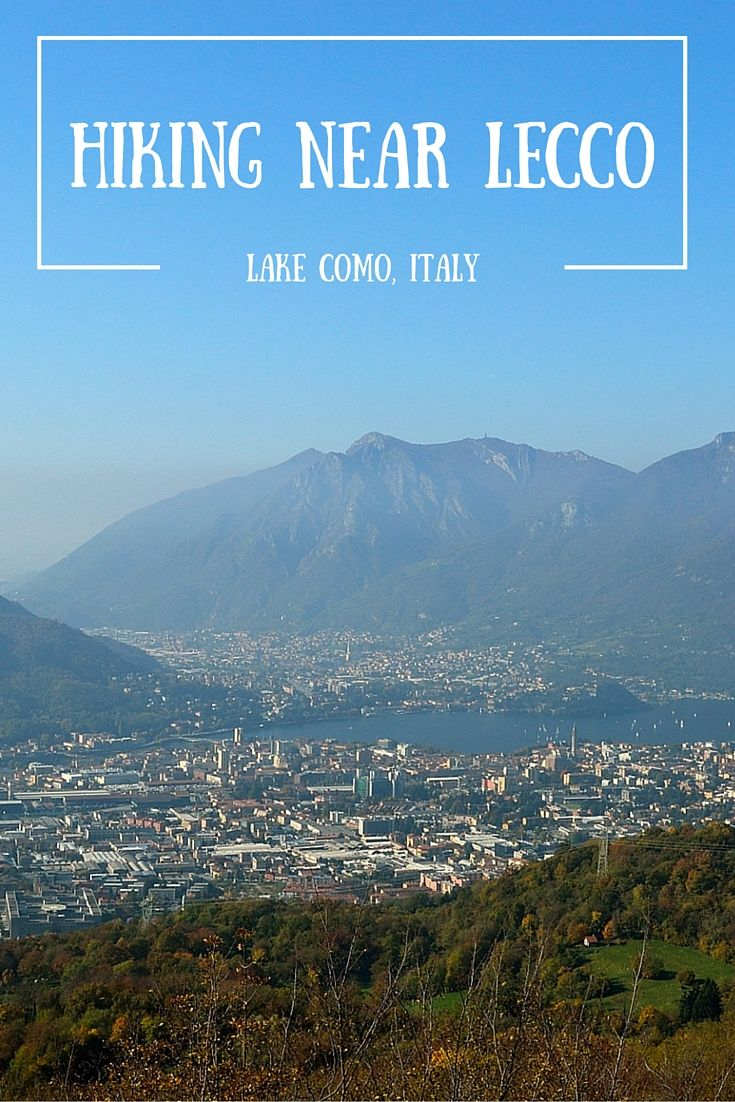 Hiking near Lecco by lake Como in Italy. Hiking an amazing mountain called Monte Resegone. Demanding but very rewarding!!.