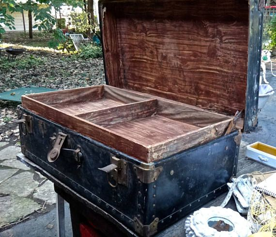 Steamer Trunk Coffee Table Ideas: 17 Best Ideas About Trunk Coffee Tables On Pinterest