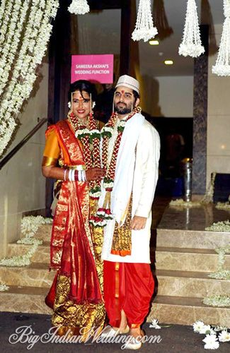 Bollywood actress Sameera Reddy Wedding Pictures | Bigindianwedding.com