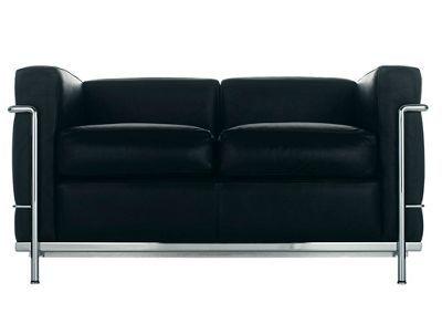 LC2 Petit Modele Two-Seat Sofa, Le Corbusier